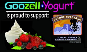 USA Pro Challenge 2012 and Goozell Yogurt